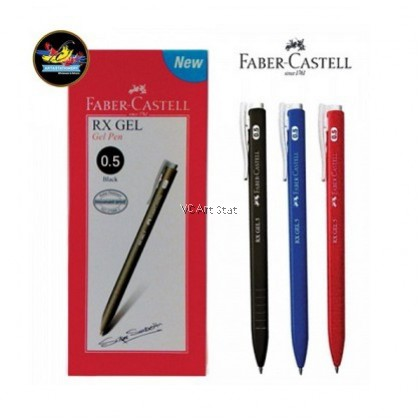 Faber-Castell RX Gel Pen 0.5/0.7mm
