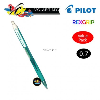 Pilot Rexgrip 0.5/0.7mm Mechanical Pencil(ValuePack)-Per Piece