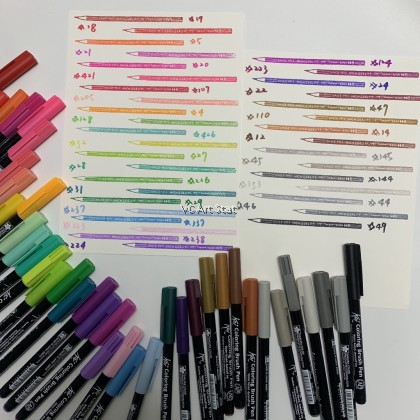 Sakura Koi Coloring Brush Pen (Per Pcs) - Lisit 2/3