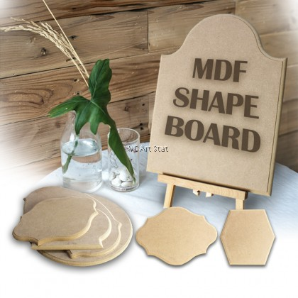 **Clearance** MDF Shape Board for drawing